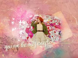 You are the only exception by AngeLiCiOuZz