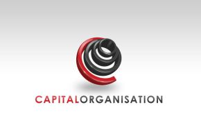 Capital Logo Concept 2 by DESIGN-FORENSICS