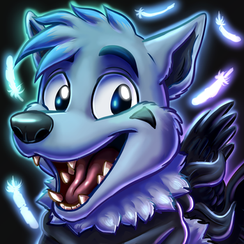 Icon Commission - DrawingBlue by MustaPantteri