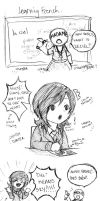 PJA: Learning French by kishi-san