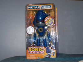Metal Sonic in Box by SuperTailsHero