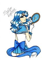 Sailor Neptune by DarkSpirit16