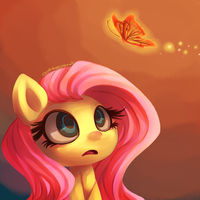 Fluttershy and the Butterfly by Oathkeeper21