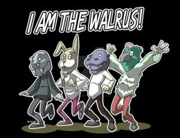 I am the walrus by Jaehthebird