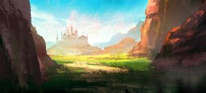 landscape speed painting tuts-3 by surendrarajawat