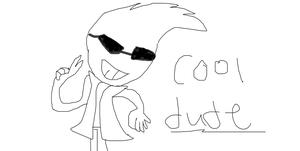 Cool Dude by iza200117