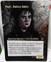 Magic the Gathering alter: Teysa Beetlejuice by Ondal-the-Fool