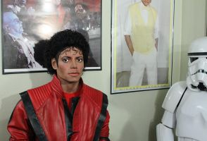 Michael hanging with my lifesize Stormtrooper by godaiking