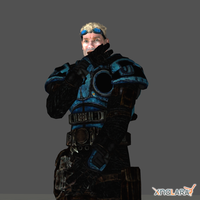 Baird From Gears of War 2 by bondlaw
