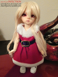 A Christmas Dress by eerieINFECTIION