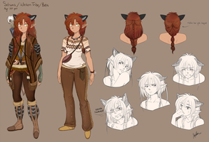 . Setsuna character sheet . by thestoneycoyote