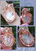 Frozen Ocean Pendant by tanyquil