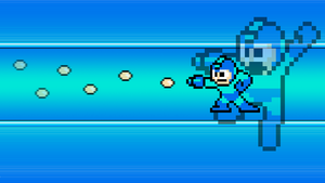 8-bit Megaman Wallpaper by Superdimentiobros