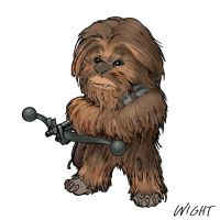 C is for Chewie by joewight