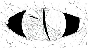 Spiderman The Lizard Black And White by marvelnerd87