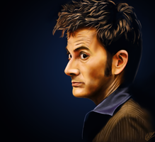 The Tenth Doctor by beth193