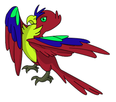 Parrot by Brookreed