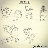 Quick sketch ! The #hand - #TabishereArt #design # by TABishere