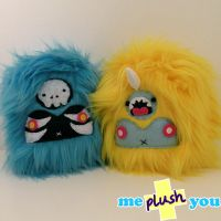 ME PLUSH YOU- Mini Yetis by loveandasandwich