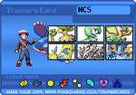 NintendoCapriSun Pokemon Sapphire Trainer Card by Shiron-the-Windragon
