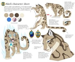 Akeli Character Sheet by akeli