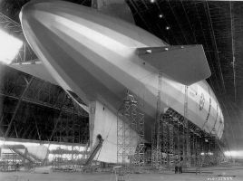 USS Macon under construction by FCARVALLO