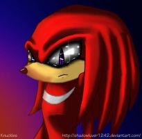 Knuckles by Shadowluver1242