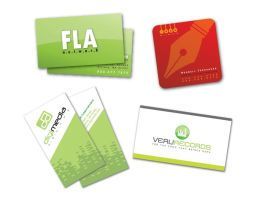 Business Cards 02 by dellustrations