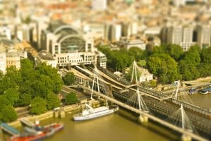 Mini Charing Cross Station by AndrewToPhotography