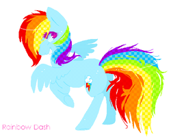 Rainbow Dash request by Butterfly-Pants