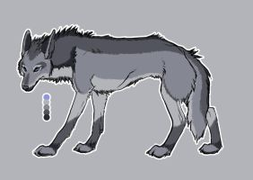 Design Contest Gray Wolf by animelovers21