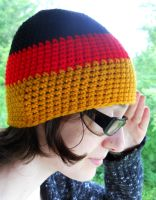 Hetalia Germany Crochet hat 2 by YarnAlchemy