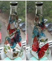 Butterflys, the bottle by M-i-n-e-r-v-a