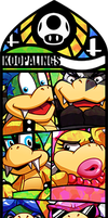 Smash Bros - Koopalings by Quas-quas