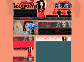 Katy Perry Layout by Lexigraphic