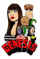 GENESIS - Front Cover by EarthmanPrime