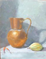 Bronze Jug and Squash by comicwiz123