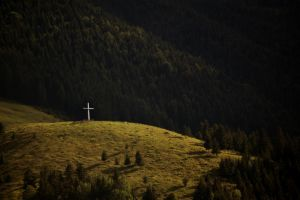 cross on the hill by torobala