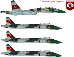 1st Tactical Fighter Squadron by IgorKutuzov