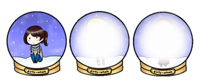 Snow Globe Adoptables by Aillix