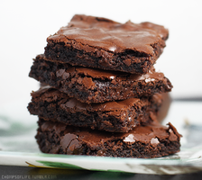Chocolate Brownies by chompsoflife