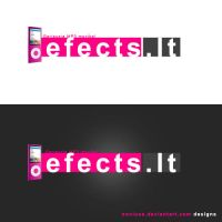 Efects.lt Logotype by NoNiuss