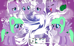Wintry Mint ~Official Character Ref~ by Winter-Wondermare
