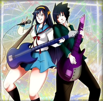 Sasuke and Hinata :: God Knows by Megalow