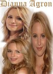 Dianna Agron - Graphic Work by claudiojust