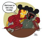 Boba Fett and Iron Man by AtlantaJones