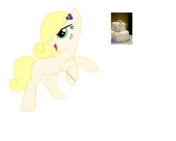 Cake Theme Pony Draw 2 Adopt /closed/ by pinkamainia