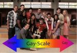 Glee Gay Scale by GabberKittie