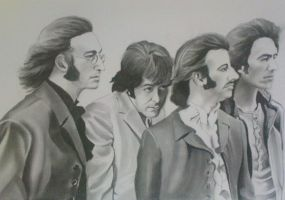The Beatles by DavidS65