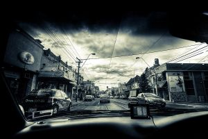 Driving Through Melbourne by CainPascoe